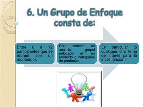 preguntas de cierre en focus group focus group ppt