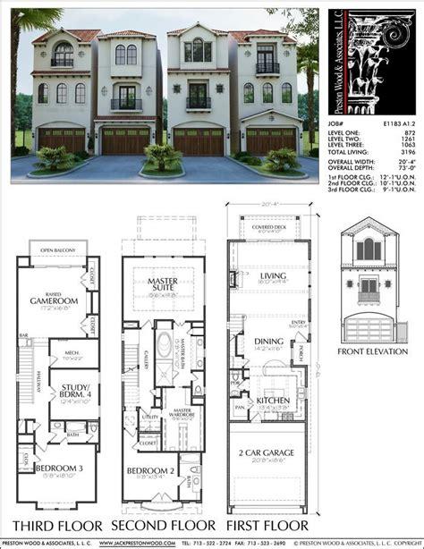 duplex designs floor plans the 25 best duplex house plans ideas on