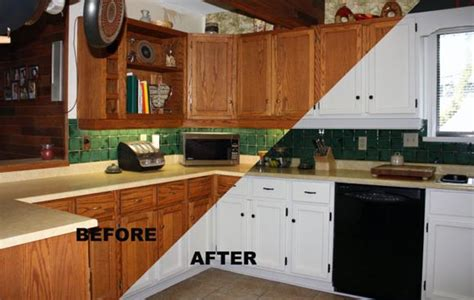 spray painting kitchen cabinets before and after cabinet painting 171 the master s touch painting