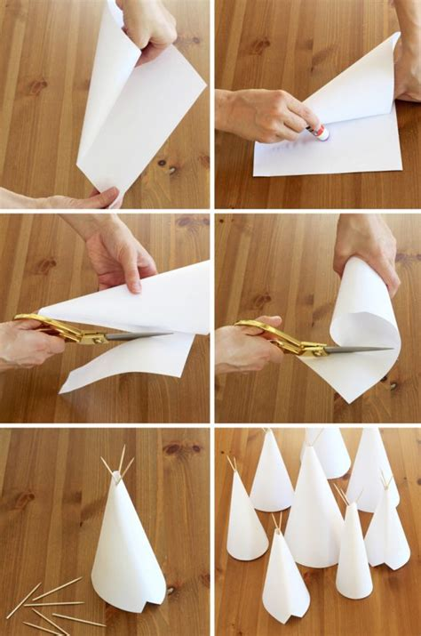 how to crafts for diy teepee craft and centerpiece paging supermom