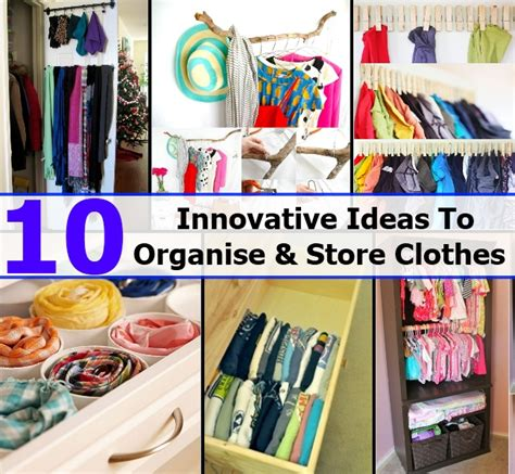 diy storage ideas for clothes 10 awedsome and innovative ideas to organise and store