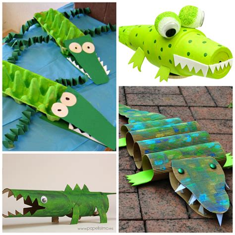 arts and craft projects for creative alligator crocodile crafts for crafty