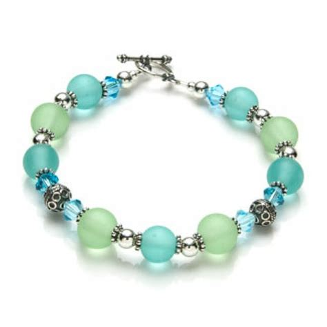 sea bead bracelets images beaded bracelet the sea glass bracelet kit