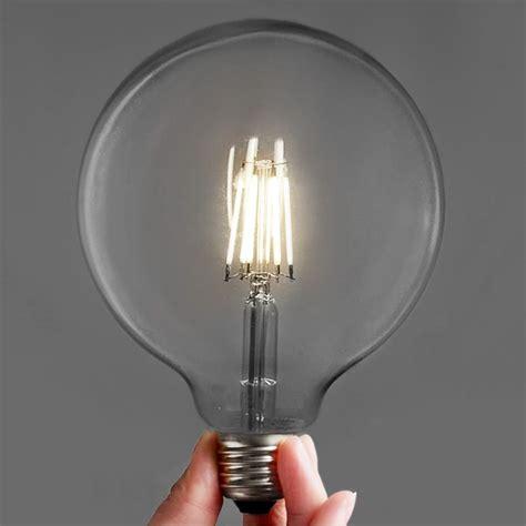large led light bulbs edison retro style led bulbs large g125 6w tudo