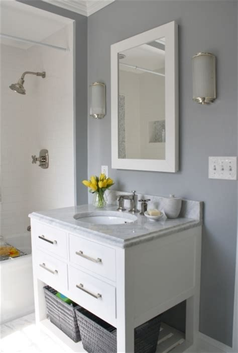 grey and white bathroom ideas fascinating bathroom grey wall color with white crown