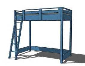 bunk bed blueprints american bunk bed plans bed plans diy blueprints