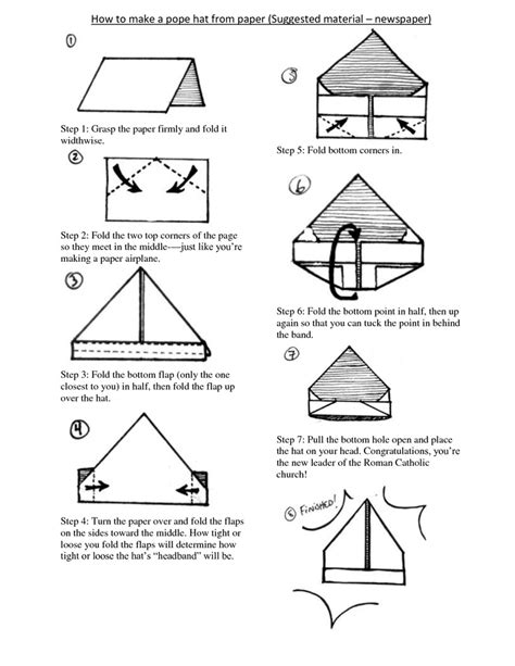 how to make a paper hat origami 17 best images about paper hats on brown