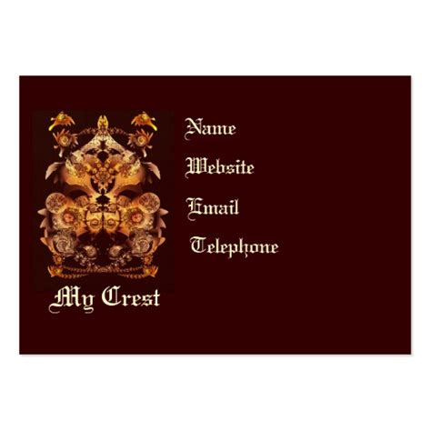 make your own card template make your own crest business card templates zazzle