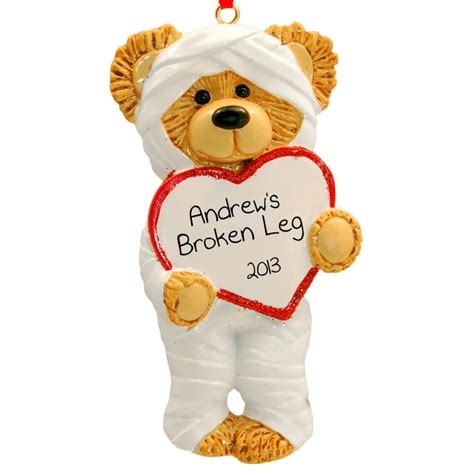 broken leg ornament broken leg ornament broken bone humor