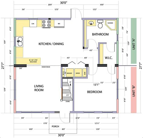 flor plan fresh small kitchen floor plans design 5460