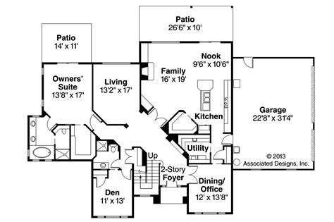 traditional floor plans traditional house plans bloomsburg 30 667 associated designs