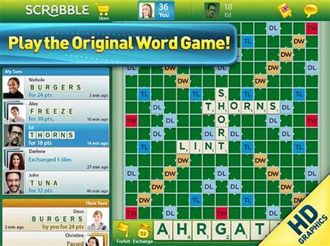 scrabble for tablets eight amazing board you can play on your tablet