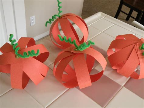 paper pumpkin craft swellchel swellchel does pumpkin crafts for