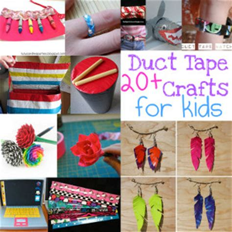 duct crafts for kid made gift ideas for family teach beside me