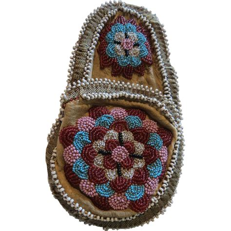 beaded coin purse vintage american indian beaded coin purse