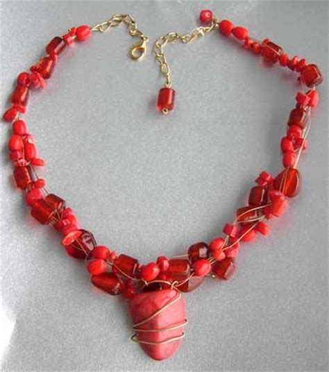 beading and jewelry beaded jewelry how to make a wired center bead