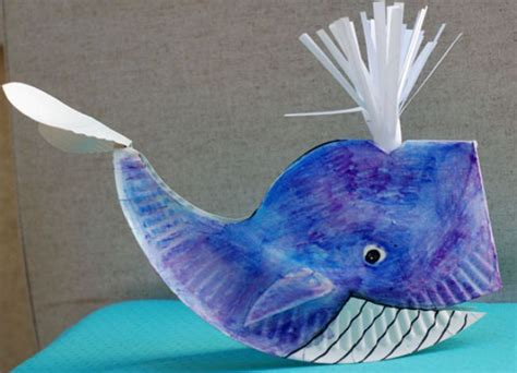 whale paper plate craft 29 paper plate crafts for tip junkie