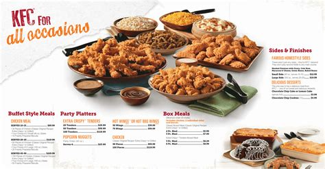catering for kfc catering menu prices view kfc catering menu here