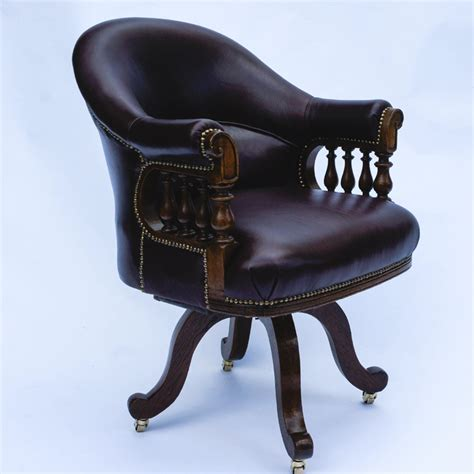 Antique Desk Chairs Swivel by Antique Swivel Seat Desk Chair Sn725