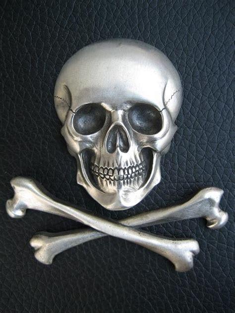 silver skull silver skull and cross bones by flintlockprivateer on