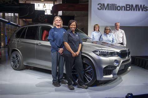 Bmw South Carolina by Bmw S South Carolina Plant Built Its 3 Millionth Vehicle