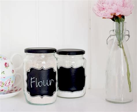 diy chalkboard labels for jars 17 best images about class reunion 2 on