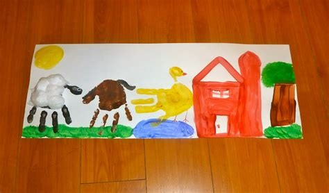 farm crafts for farm animals crafts