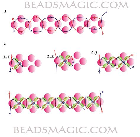 free printable seed bead patterns free beading patterns to print breeds picture