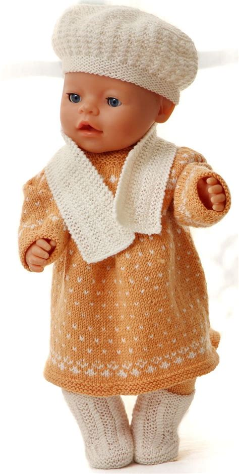 baby doll clothes knitting patterns 17 best images about babyborn kleertjes on