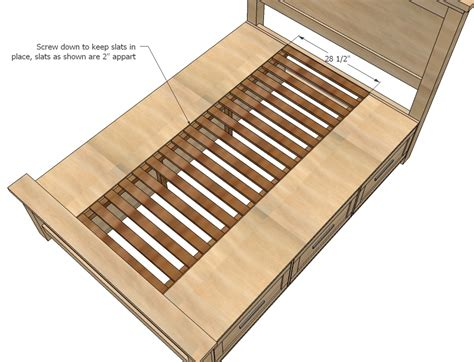 woodworking plans beds white build a farmhouse storage bed with storage