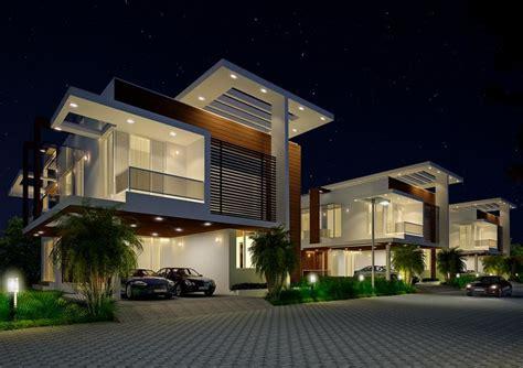 Home Exterior Design India Residence Houses myans luxury villas in kanathur chennai price floor