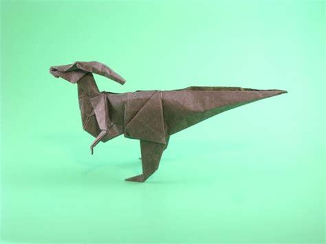 origami parasaurolophus parasaurolophus fumiaki kawahata gilad s origami page