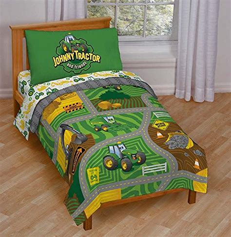 tractor bedding set deere bedding for a farm themed bed