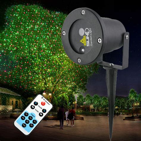 tree light projector remote controller gr laser project outdoor