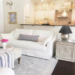 instagram thriftyniftynest my new white ikea farlov sofa