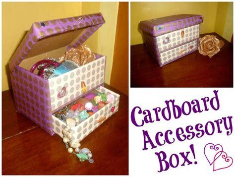 how to make a jewelry box diy cardboard accessory box 5 steps