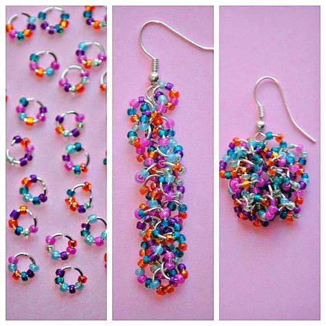 how to make jewelry with crystals easy seed bead earrings happy go lucky