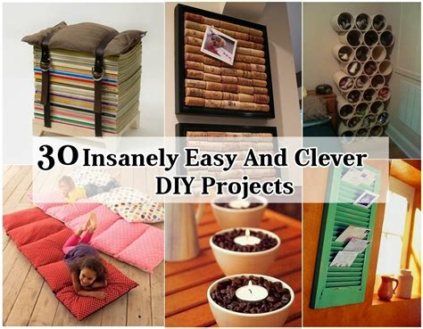 diy easy craft projects 31 insanely easy and clever diy projects diy craft projects