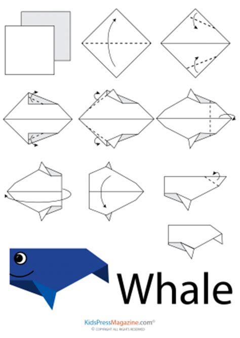 easy origami sea creatures origami archives kidspressmagazine