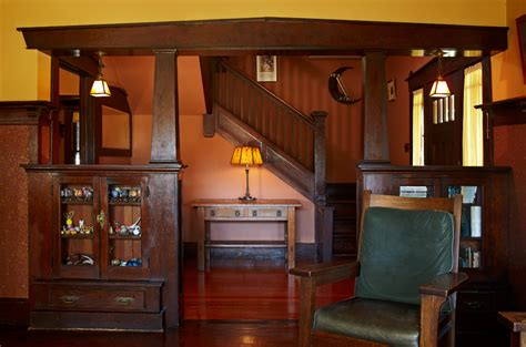 woodwork in home pasadena bungalow with original woodwork house