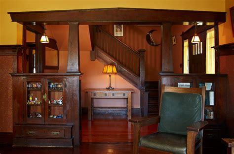 craftsman style woodwork pasadena bungalow with original woodwork house