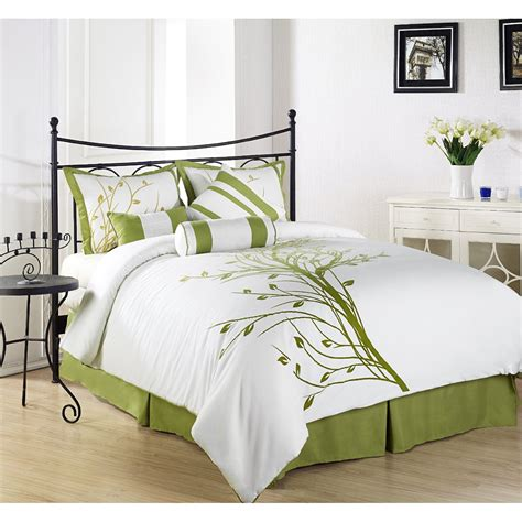 tree bed sets black and white toile bedding bed furniture decoration