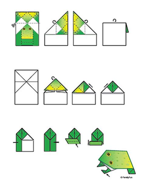 printable for origami pendidikan seni visual origami