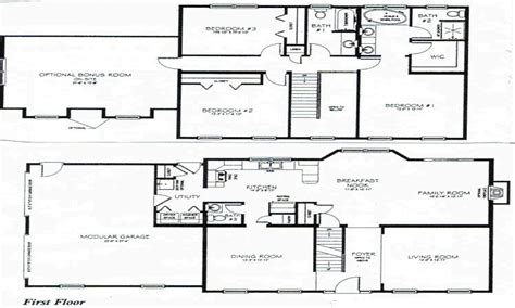 3 bedroom 2 story house plans basement bedrooms 2 story 3 bedroom house plans 1 story house blueprints mexzhouse