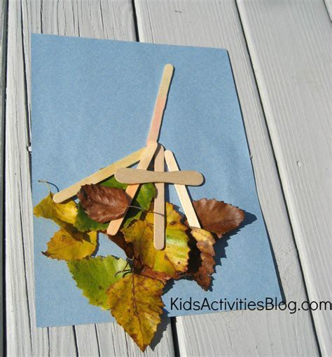 leaf craft for 20 fall crafts for living well