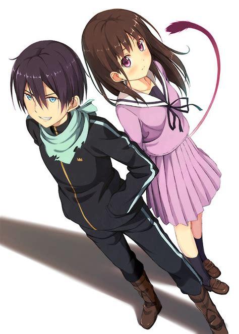 noragami anime yato and hiyori noragami fan 36472394 fanpop