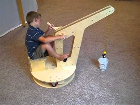 woodworking for boys kid crane
