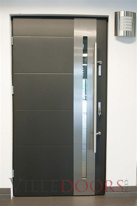 steel exterior door modern steel entry doors