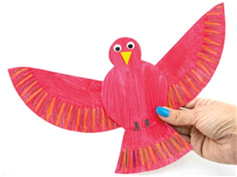 paper plate bird craft bird activities for and toddlers sqooll
