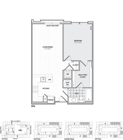 frasier floor plan the frasier rentals alexandria va apartments